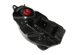 Cmt  carbon monoblock fuel tank 7,3 liters color carbon look