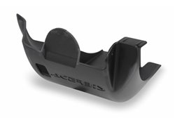 Acerbis plastic skid plates color black