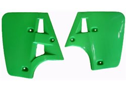 Ufo radiator covers color green