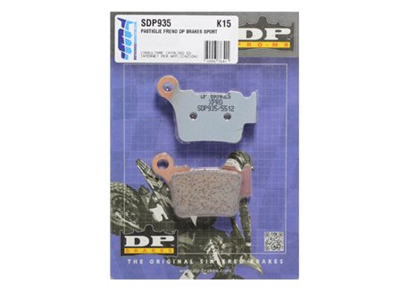 Dp  rear brake pads sintered
