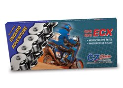 Cz Ecx Enduro - Adventure X-ring 525 pitch transmission chain color silver size 120 links