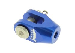 Motocross marketing rear brake clevis color blue