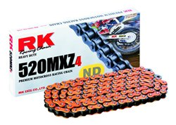 Rk 520 pitch Mxz4 color transmission chain color orange