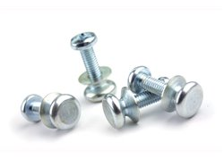 Motocross marketing screw set for fender
