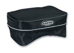 Ufo large rear fender bags color black