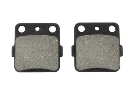 Braking brake pads size 46,1 x 45,1 x 7,8