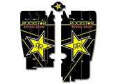 Blackbird Rockstar rad louver stickers