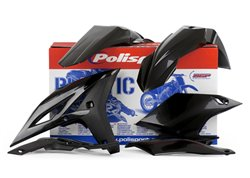Polisport  plastic kit color black