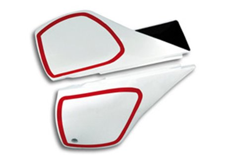 Ufo  side panels color white