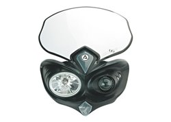 Acerbis  Cyclops headlight color black