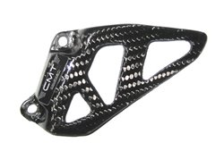 Cmt  front sprocket guard color carbon look