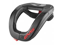 Evs R4 Race neck brace protection color black