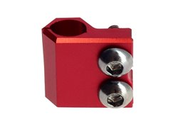 Riolo brake line clamps color red