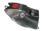 Cmt carbon monoblock fuel tank 7,5 liters color carbon look