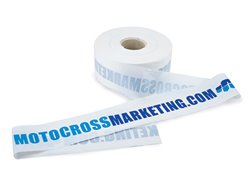 Motocross marketing 400 meters race tape
