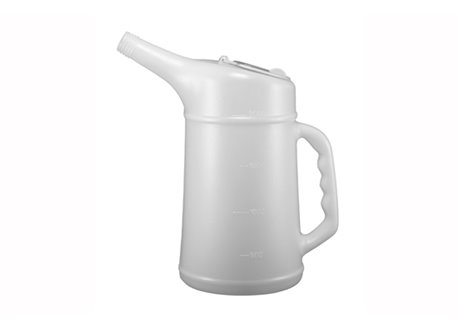 Riolo 2 liters fluid flask with lid color white
