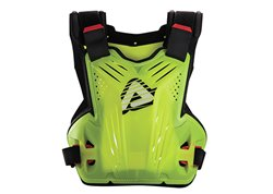 Acerbis Impact Mx body armour color yellow fluo