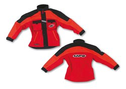 Ufo Boy enduro kid jacket color orange size L