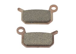 Braking  rear brake pads sintered color gold