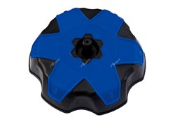Racetech gas cap tanks color blue/black