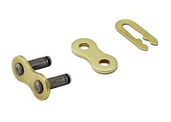 Cz Cz Mx 520 pitch link chain color gold