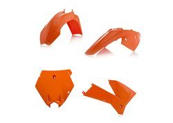 Ufo  plastic kit color orange