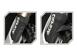 Acerbis short velcro neoprene fork gaiter color black