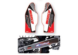 Arc Design fork guards + swing arm stickers