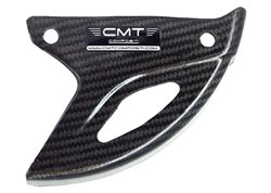 Cmt carbon rear disk guards color carbon look