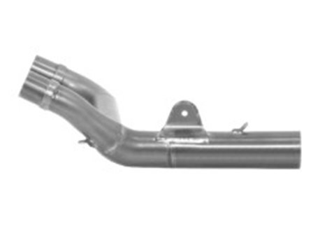 Arrow  stainless steel 1 into 2 mid-pipe