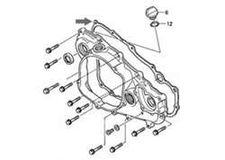 Athena  clutch cover gasket