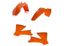 Acerbis  plastic kit color oem 04 orange color
