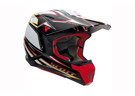 Scott 350 Speed helmet color red / black size XL