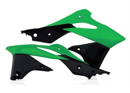 Acerbis  radiator covers color green / black