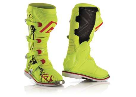 Acerbis  X-Pro V. 2017 boots color yellow fluo